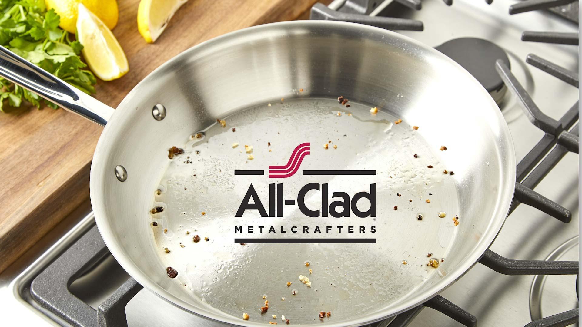 All-Clad social crab cake image